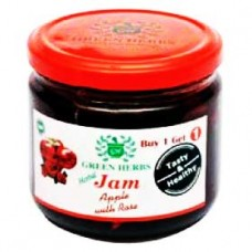 Jam-Apple with rose
