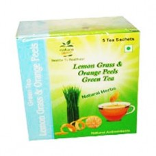 Lemon Grass & Orange Peel Green Tea