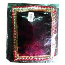 Krishna Pillow (Velvet bet) Maroon
