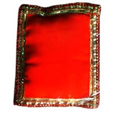 Krishna Pillow (Velvet bet) Orange