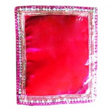 Krishna Pillow (Velvet bet) Red