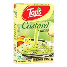 Tops Custard Powder- Kesar Pista