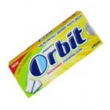 ORBIT CHEWING GUM LIME FLAVOURED 5PELLETS
