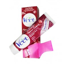 VEET Hair Removal Cream Suprem Essence Valvet Rose