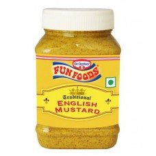 Fun foods traditional english mustard