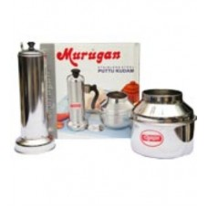Murugan stainless steel puttu kudam