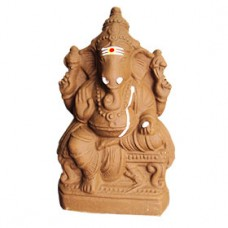 Lord Ganesha-Large-Medium-Brown