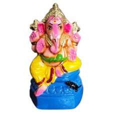 Lord Ganesha-Small-Pink-Red