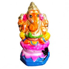 Lord Ganesha-Medium-Red
